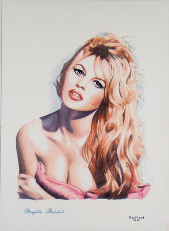 Brigitte Bardot por Douillard